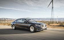 Обои автомобили Mercedes-Maybach S 650 US-spec - 2017