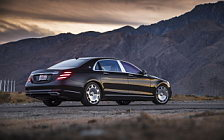Обои автомобили Mercedes-Maybach S 650 US-spec - 2017