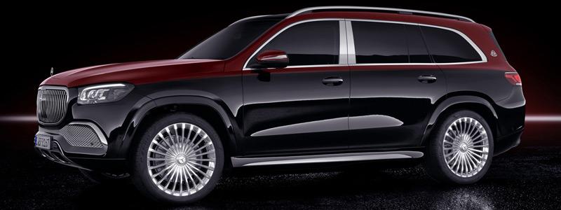 Обои автомобили Mercedes-Maybach GLS 600 4MATIC - 2020 - Car wallpapers