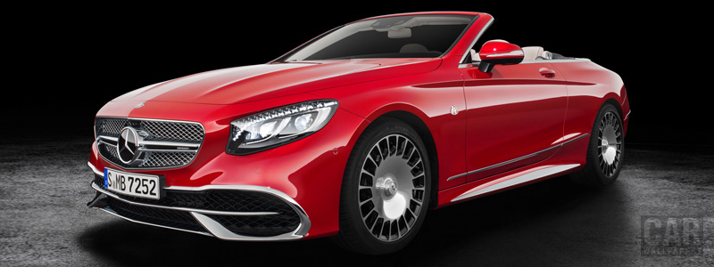 Обои автомобили Mercedes-Maybach S 650 Cabriolet - 2017 - Car wallpapers