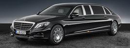 Mercedes-Maybach S 600 Pullman Guard - 2016