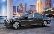 Обои автомобили Mercedes-Maybach S600 - 2015