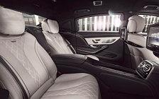 Обои автомобили Mercedes-Maybach S 600 Guard - 2016