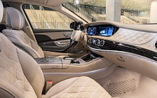 Обои автомобили Mercedes-Maybach S 650 - 2017