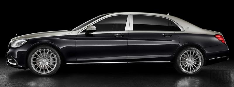 Обои автомобили Mercedes-Maybach S 560 - 2018 - Car wallpapers