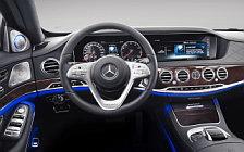 Обои автомобили Mercedes-Maybach S 560 - 2018