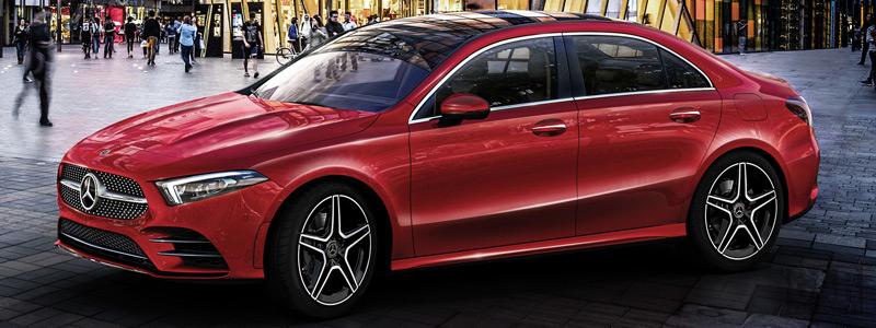Обои автомобили Mercedes-Benz A 200 L Sport Sedan  China-spec - 2018 - Car wallpapers