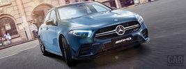 Mercedes-AMG A 35 L 4MATIC China-spec - 2019
