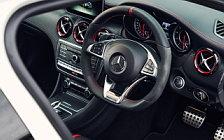Обои автомобили Mercedes-AMG A 45 4MATIC UK-spec - 2015