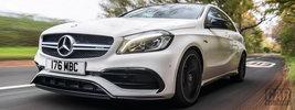 Mercedes-AMG A 45 4MATIC UK-spec - 2015