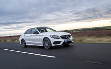 Обои автомобили Mercedes-Benz C 250 d 4MATIC AMG Line UK-spec - 2018