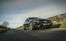 Обои автомобили Mercedes-Benz CLS 400 d 4MATIC AMG Line UK-spec - 2018
