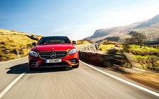 Обои автомобили Mercedes-AMG E 43 4MATIC UK-spec - 2017