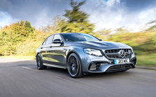Обои автомобили Mercedes-AMG E 63 4MATIC+ UK-spec - 2017