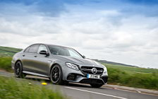 Обои автомобили Mercedes-AMG E 63 S 4MATIC+ UK-spec - 2017