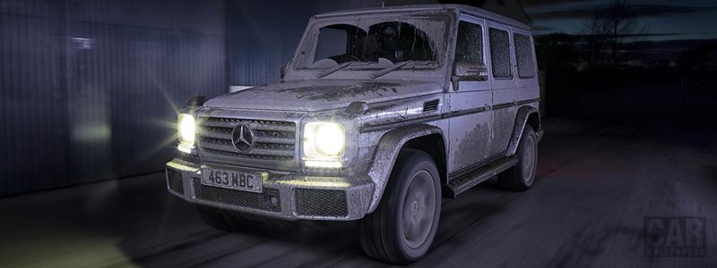 Обои автомобили Mercedes-Benz G 350 d UK-spec - 2015 - Car wallpapers