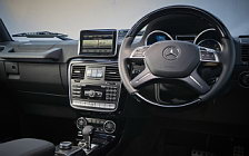 Обои автомобили Mercedes-Benz G 350 d UK-spec - 2009