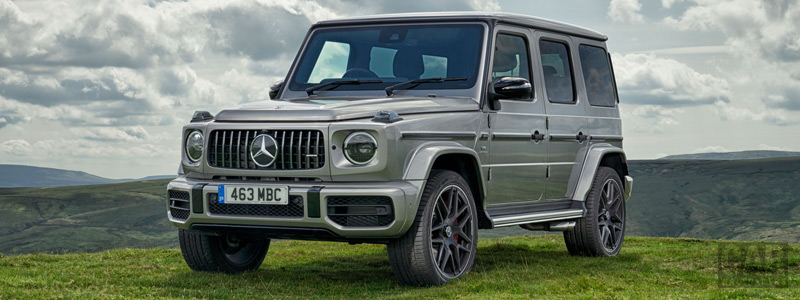 Обои автомобили Mercedes-AMG G 63 UK-spec - 2018 - Car wallpapers