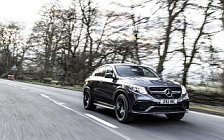 Обои автомобили Mercedes-AMG GLE 63 S 4MATIC Coupe UK-spec - 2016