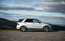 Обои автомобили Mercedes-Benz GLE 500 e 4MATIC AMG Line UK-spec - 2015