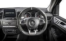 Обои автомобили Mercedes-AMG GLE 63 S 4MATIC UK-spec - 2016
