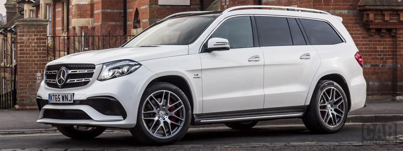 Обои автомобили Mercedes-AMG GLS 63 4MATIC UK-spec - 2016 - Car wallpapers