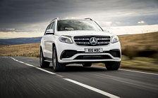 Обои автомобили Mercedes-AMG GLS 63 4MATIC UK-spec - 2016