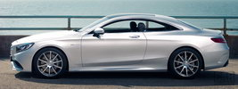 Mercedes-Benz S63 AMG Coupe UK-spec - 2014