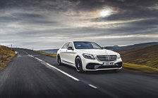 Обои автомобили Mercedes-AMG S 63 4MATIC+ UK-spec - 2017