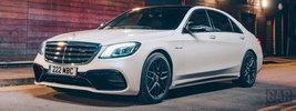 Mercedes-AMG S 63 4MATIC+ UK-spec - 2017