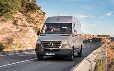 Обои автомобили Mercedes-Benz Sprinter Panel Van UK-spec - 2018