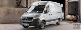 Mercedes-Benz Sprinter Panel Van UK-spec - 2018