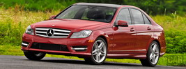 Mercedes-Benz C350 AMG Sports Package US-spec - 2012