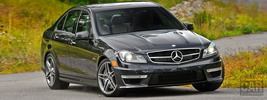 Mercedes-Benz C63 AMG US-spec - 2012