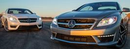Mercedes-Benz CL63 AMG and Mercedes-Benz CL65 AMG US-spec - 2013
