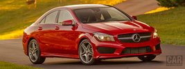 Mercedes-Benz CLA250 AMG Sports Package US-spec - 2014