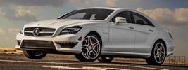 Mercedes-Benz CLS63 AMG S-Model US-spec - 2014