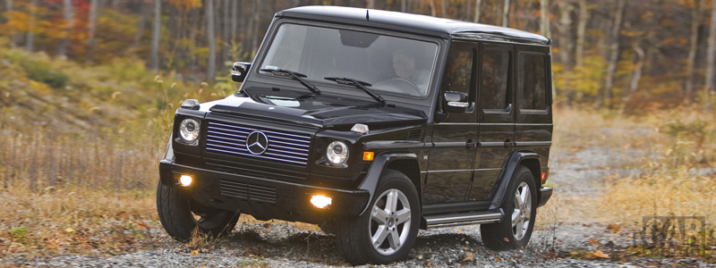 Обои автомобили Mercedes-Benz G500 - 2009 - Car wallpapers