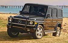 Обои автомобили Mercedes-Benz G550 - 2009