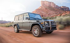 Обои автомобили Mercedes-AMG G65 US-spec - 2016