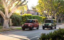 Обои автомобили Mercedes-Benz G 550 and Mercedes-AMG G 63 US-spec - 2018