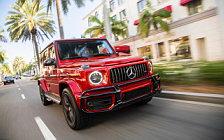 Обои автомобили Mercedes-AMG G 63 US-spec - 2018