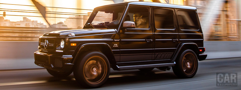 Обои автомобили Mercedes-AMG G 65 Final Edition US-spec - 2018 - Car wallpapers