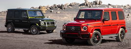 Mercedes-Benz G 550 and Mercedes-AMG G 63 US-spec - 2018