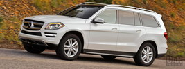 Mercedes-Benz GL350 BlueTEC US-spec - 2013