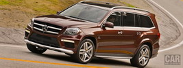 Mercedes-Benz GL63 AMG US-spec - 2013