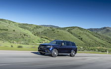 Обои автомобили Mercedes-Benz GLS 580 4MATIC AMG Line (Cavansite Blue) US-spec - 2019