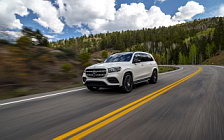 Обои автомобили Mercedes-Benz GLS 580 4MATIC AMG Line (Diamond White) US-spec - 2019