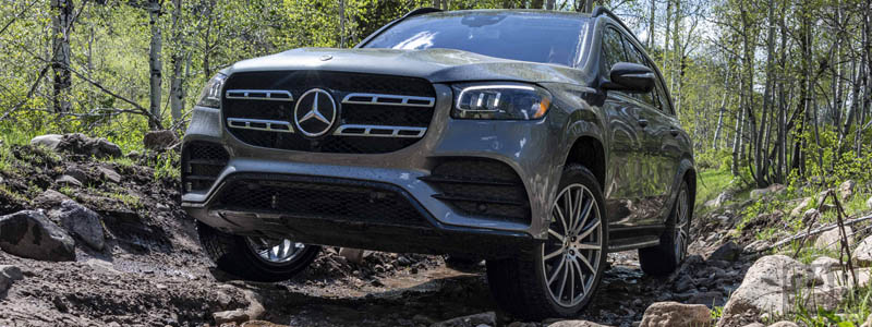 Обои автомобили Mercedes-Benz GLS 580 4MATIC AMG Line US-spec - 2019 - Car wallpapers