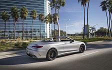 Обои автомобили Mercedes-AMG S 63 4MATIC+ Cabriolet US-spec - 2018